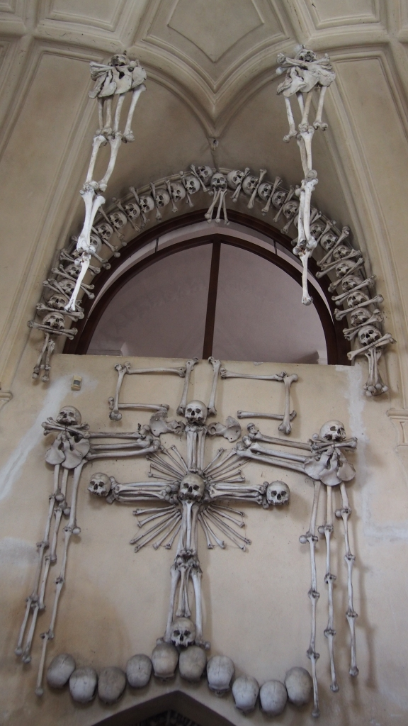 Inside the Sedlec Ossuary